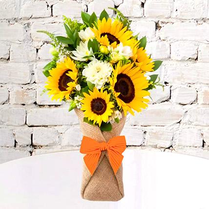 Sunflower Galore Bunch: Bouquet of Flowers