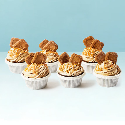 Lotus Biscoff Cup Cakes: