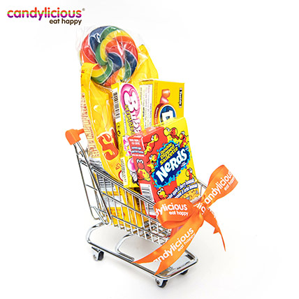 Candylicious Mini Trolley Orange Gift Pack: