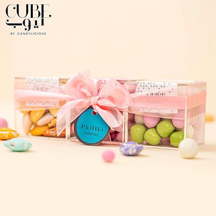 Mini 3 Cube Set Pastels Collection:
