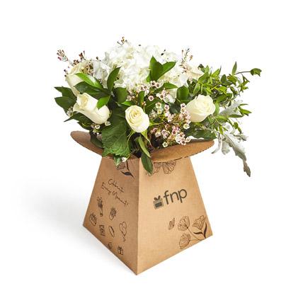 Wonderful Whites: Order Flowers