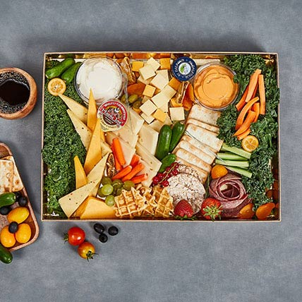 British Cheese Collection Box: Edible Gifts