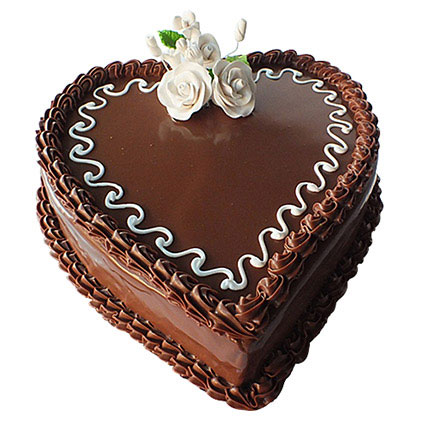 Choco Heart Cake LB: Send Cakes to Lebanon