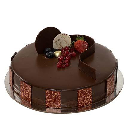 1kg Chocolate Truffle Cake LB: Cakes to Beirut