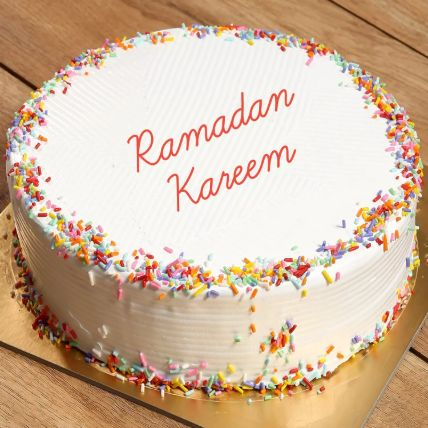 Rainbow Cake For Ramadan: Send Ramadan Gifts to Qatar