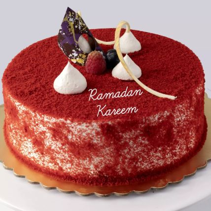 Red Velvet Cake For Ramadan: Send Ramadan Gifts to Qatar