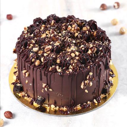 Crunchy Chocolate Hazelnut Cake Half Kg: Cake Delivery Jeddah