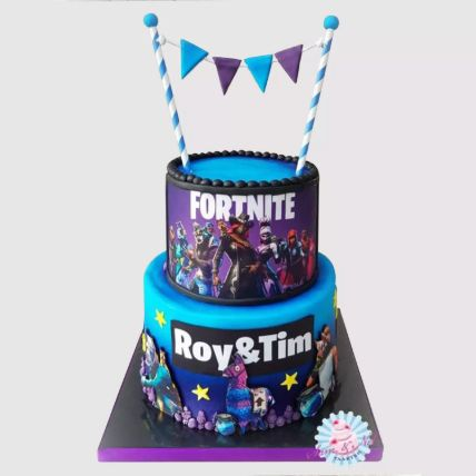 2 Tier Fortnite Cake: Cakes To Al Jubail