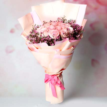 Mystics of Roses Bouquet: Send Valentines Day Gifts to Singapore