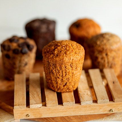 Wholemeal Carrot Spice Muffin: Cake Delivery Singapore