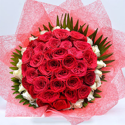 Blooming Rose Bouquet: Send Gifts To Sri Lanka