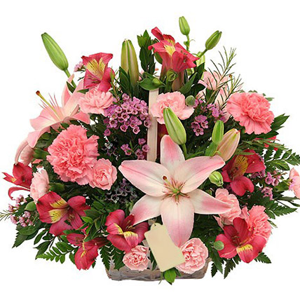 Basket Of Beautiful Flowers: Send Flowers To Sri Lanka