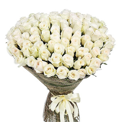 Bunch Of White Roses: Send Flowers To Sri Lanka