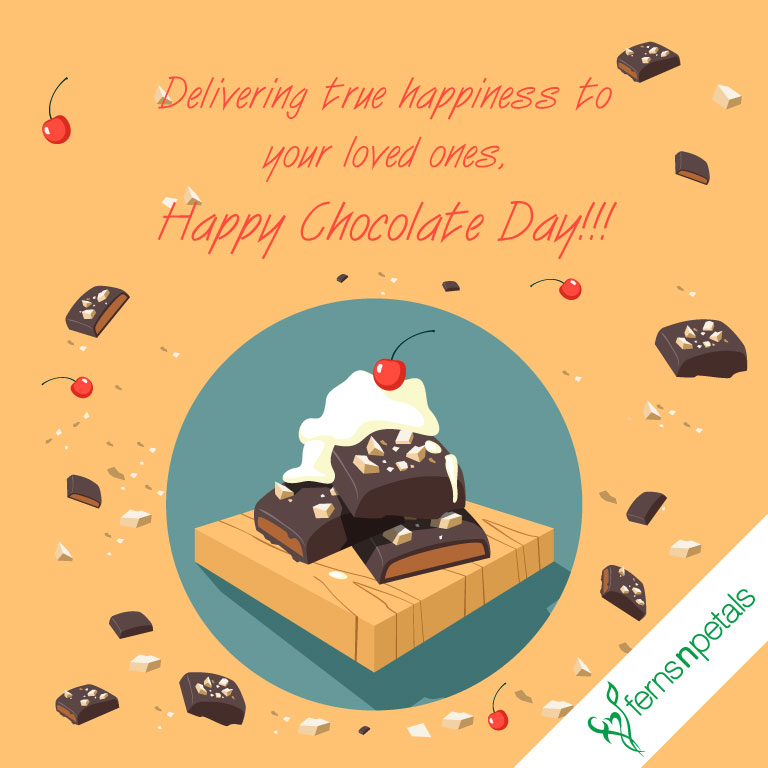 chocolate day wishes