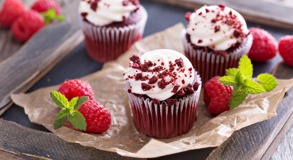 how to make Red Velvet Cupcakes on valentines day