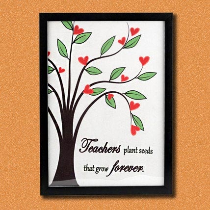 Photoframe for teacher's day
