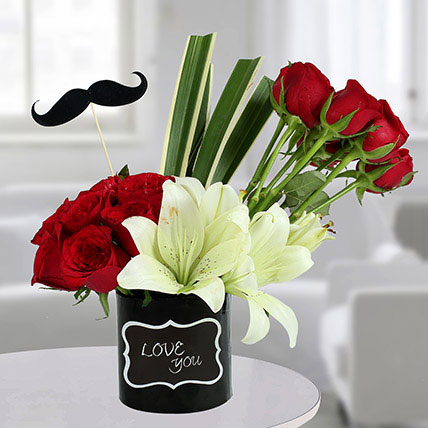 Valentine Flowers for Him
