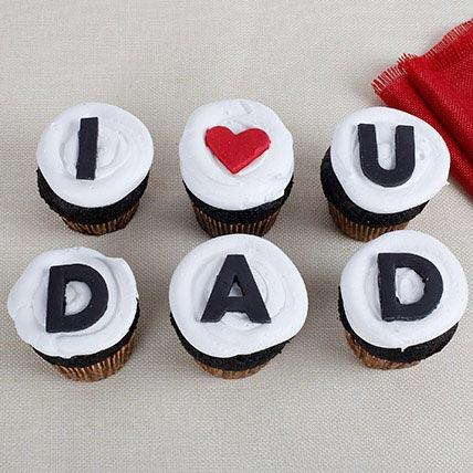 Love U Dad Cupcakes