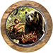 Mowgli and Baloo Truffle Cake 1 Kg Eggless