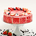 Strawberry Flavour Cake- 1.5 Kg