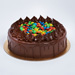 Yummy Chocolate Drip And M&M Cake 8 Portion
